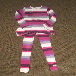 Naartjie top and leggings